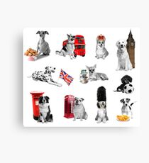 Royal Canines Canvas Print
