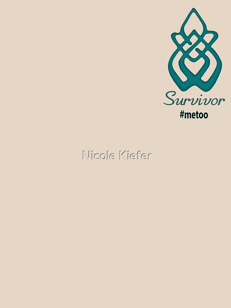 Survivor #metoo by NicoleK-design
