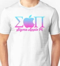 Sigma Apple Pi ΣΠ  Unisex T-Shirt