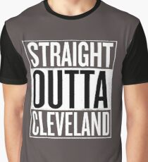 Straight Outta Cleveland Shirt, Lovers Cleveland T-Shirt Graphic T-Shirt