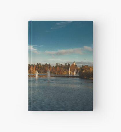 Oulu panorama Hardcover Journal