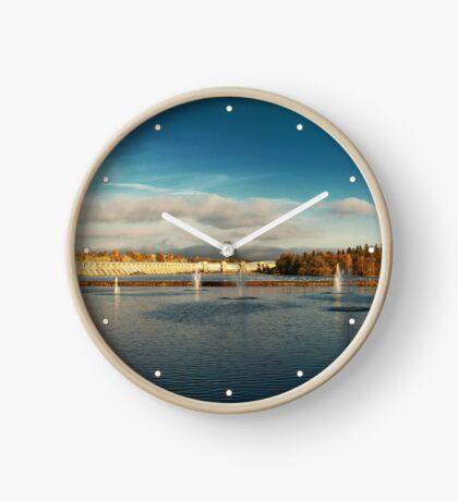 Oulu panorama Clock