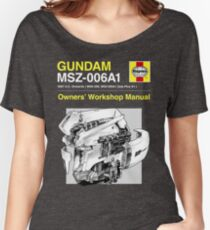 Gundam Zeta Plus - Owners' Manual Women's Relaxed Fit T-Shirt