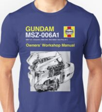 Gundam Zeta Plus - Owners' Manual Slim Fit T-Shirt