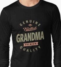 Genuine Grandma Long Sleeve T Shirt