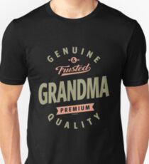 Genuine Grandma Unisex T-Shirt