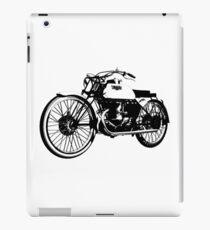 Bianchi - Freccia Celeste 350cc vintage motorcycle iPad Case/Skin