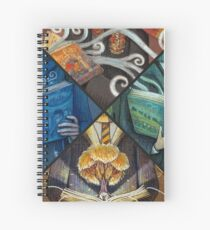 Books Magic Spiral Notebook