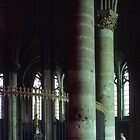 End of Apse Cathedral Reims France 19840823 0019  by Fred Mitchell