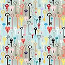 pattern of different keys by Tanor