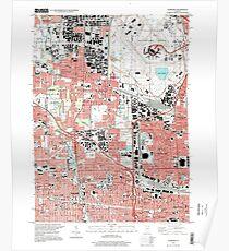 USGS TOPO Map Illinois IL Elmhurst 307505 1997 24000 Poster