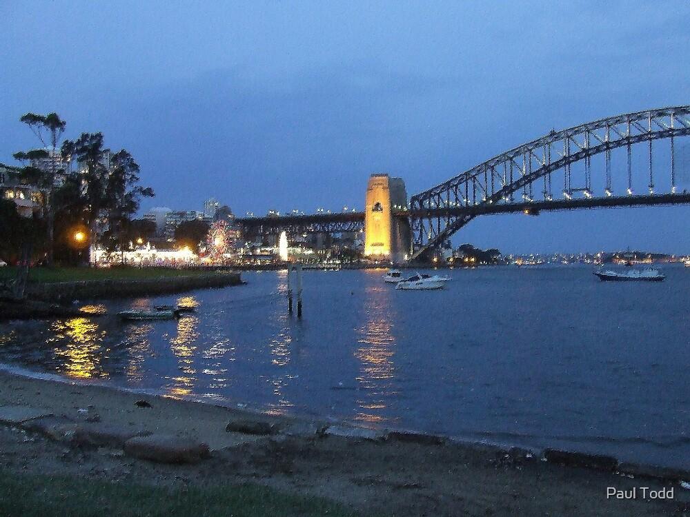 Harbour Bridge View 3 by Paul Todd
