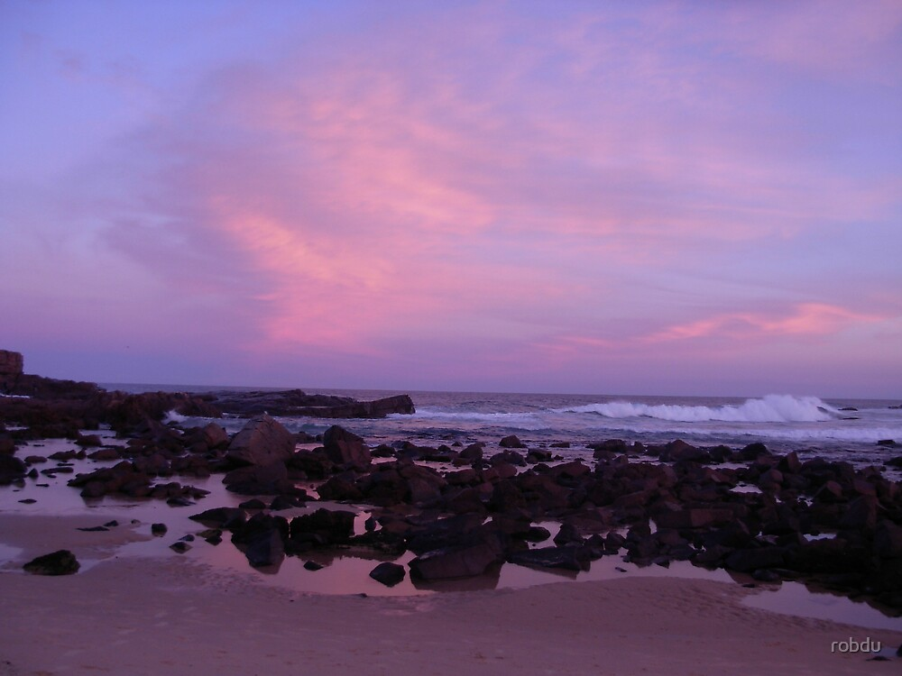 Sunset at Mystery Bay by robdu