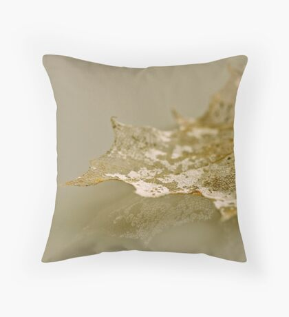 Nature´s old lace Throw Pillow