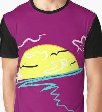 Curvey Yet Classy (Magenta) Graphic T-Shirt