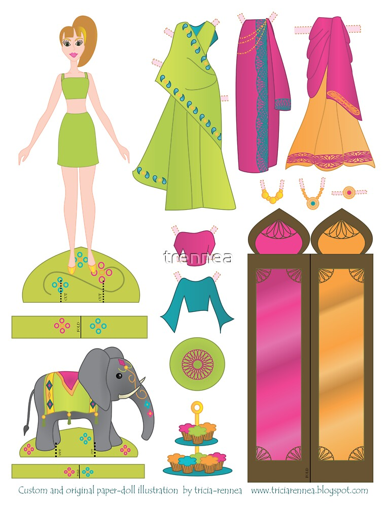 Paper Doll No.1 by trennea