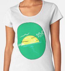 Curvey Yet Classy (Parakeet) Women's Premium T-Shirt