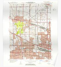USGS TOPO Map Illinois IL Elmhurst 307507 1953 24000 Poster