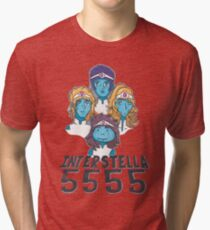 Interstella 5555, daft punk Tri-blend T-Shirt