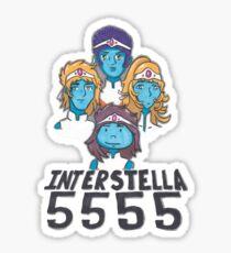 Interstella 5555, daft punk Sticker