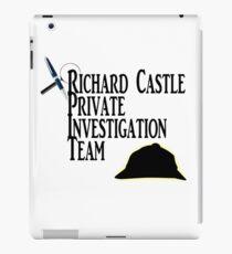 Richard Castle Private Investigation Team iPad Case/Skin