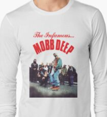 Mobb Deep The Infamous cover art Long Sleeve T-Shirt