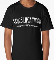 Cenosillicaphobia Long T-Shirt