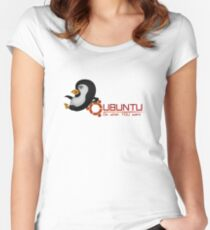 Ubuntu, do what You want Women's Fitted Scoop T-Shirt