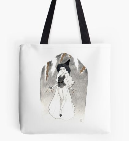 Thunder Witch Tote bag