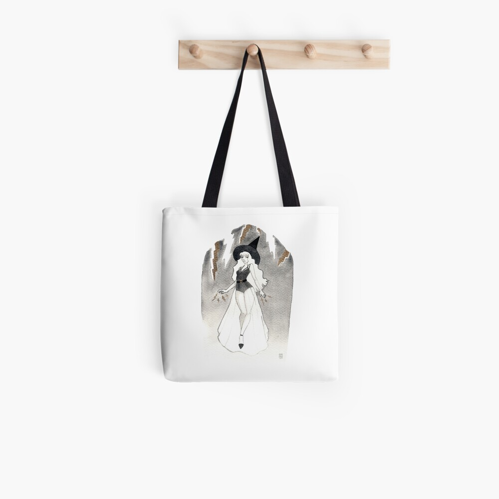 Tote bag «Thunder Witch»