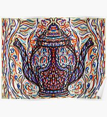 Two Spouted Teapot Poster