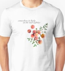 Call Me By Your Name - Inscription Unisex T-Shirt