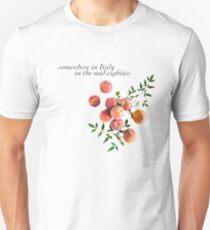 Camiseta unisex Llámame por tu nombre - Inscripción