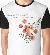 Call Me By Your Name - Inscription Graphic T-Shirt