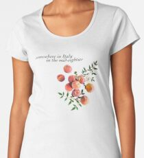 Call Me By Your Name - Inscription Women's Premium T-Shirt