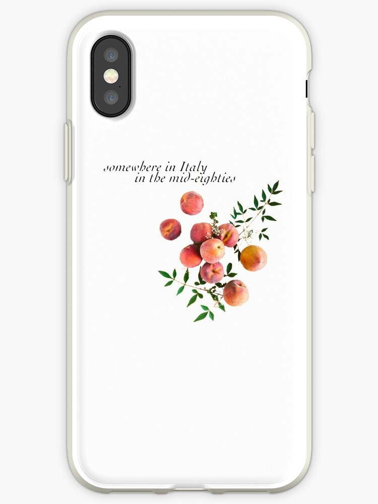 promo code 59581 a04ce 'Call Me By Your Name - Inscription' iPhone Case by notbrylee