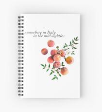 Call Me By Your Name - Inscription Spiral Notebook