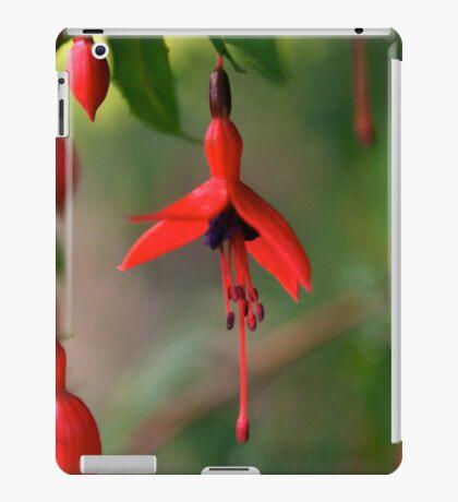 Single Wild Fuchsia Flower, Loch Na Fooey iPad Case/Skin
