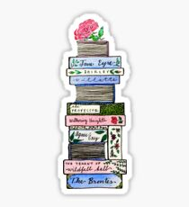 The Novels of the Brontë Sisters Sticker