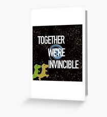 Invincible Greeting Card