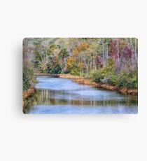 Hiwassee River Canvas Print