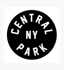 Central Park - New York City Photographic Print