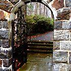 A Gate in the Winterthur Gardens by SummerJade