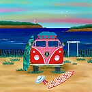 Road Trip ~ Pink Kombie by Lisafrancesjudd