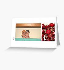 Kitch Greeting Card
