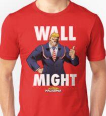 Wall Might - My Hero MAGAdemia Unisex T-Shirt