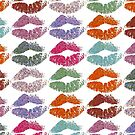 Stylish Colorful Lips #2 by Nhan Ngo
