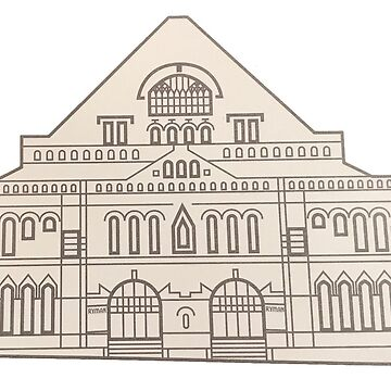 Ryman Auditorium by skegeebeast