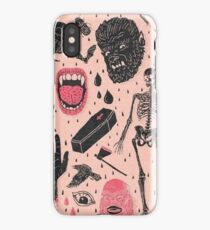 Monsters Crazy iPhone Case/Skin