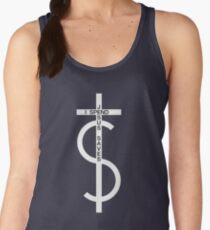 Jesus saves. I spend. (White) Women's Tank Top